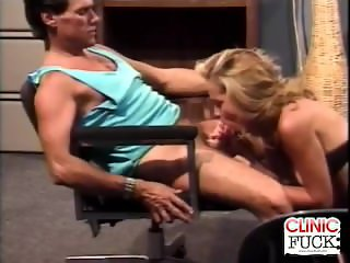 Blonde Psychiatrist Cock Sucking