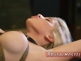 Electric bondage Big-breasted blonde hotty