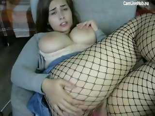 hot kittykay teen cums hard for money