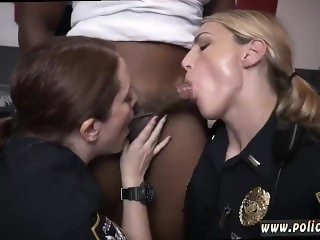 Blond and brunette college strap Raw flick