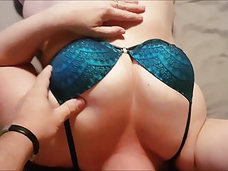 Amateur hotwife fucked hard in a sex harness - full version