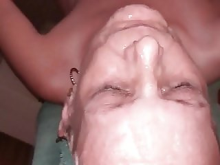 Another facial for granny