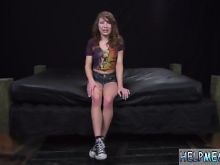 Virgin woman slave teen Faye was supposed