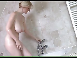 Big Boobs Blonde in Bath