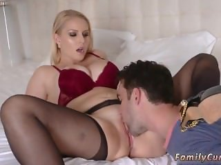 Beautiful russian mom seduces xxx Birthday