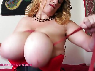 Amazing boobs in bondage