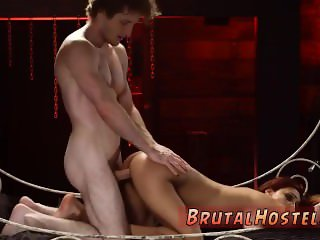 Bondage threesome whipped ass Poor lil'