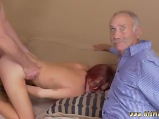 Young devotion solo hot blowjob sandwich