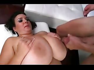 Great Cumshots on Big Tits 62