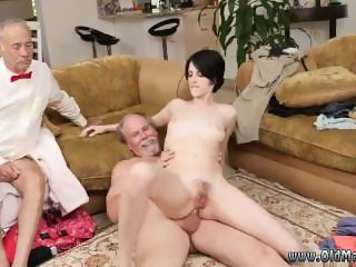 Three monster cock threesome hot girls