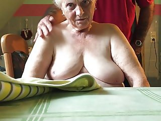 76 year old mother in law,nice tits