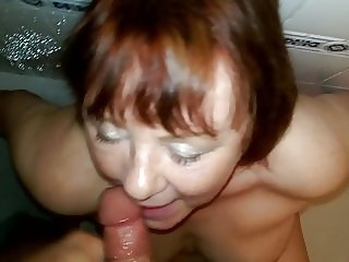 pissing in the wifes mouth