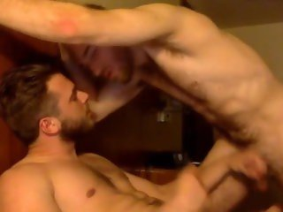 Muscle Bi Friends Suck Cock On Cam