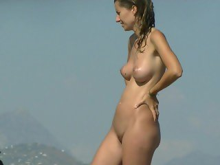 Hot amateur chicks nudist voyeur video