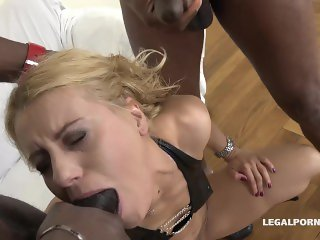 Nikky Thorn BBC Double Anal