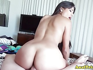 Bigtitted latina girlfriend assfucked by bf