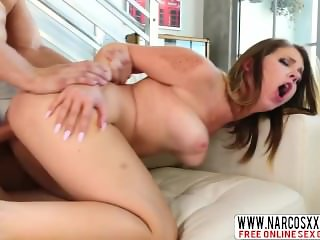 Young Step Mother Willow Winters Riding A Cock