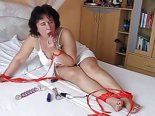 hot masturbate video with horny mature