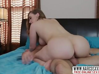 Blonde Step Mom Harley Jade Gives Her Son While Wife Sleeping