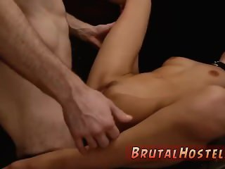 Rough extreme choke and german brutal anal