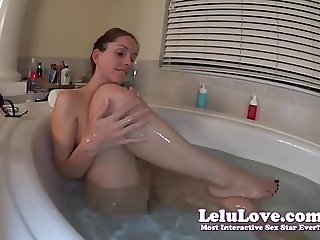Lelu Love-Shaving Legs Armpits Pussy And Asshole