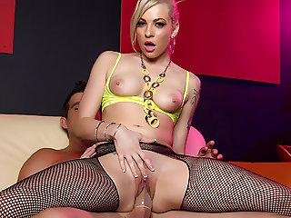 The Stripper Experience - Baily Blue get fucked, big dick