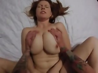 busty red head wife fucked