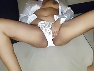 Mexican Lady Masturbating