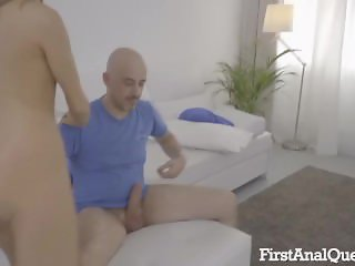 Lucette Diamond gets her anal fucked first time