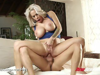 Alyssa Lynn Wants Her Step Son's Big Cock