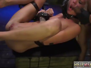 Anal finger blowjob first time Halle Von is