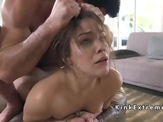 Big cock lawyer dominates hot babe