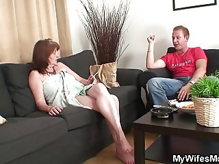 He seduces wifes mother into taboo sex