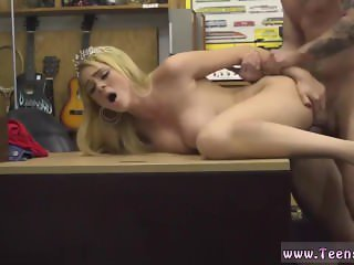 Cute girl gives blowjob Weekend Crew Takes