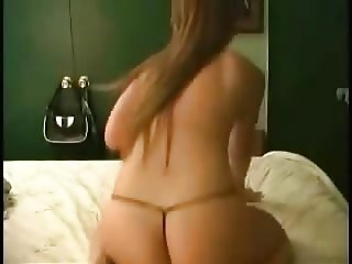 Sexy girl getting naked