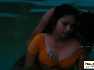 Indian girl Mamatha Enjoy at Swimming Pool - teen99 - indian short film