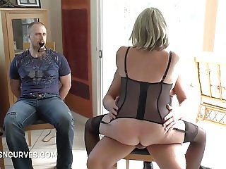 Made to watch as his Doctor fucks his wife