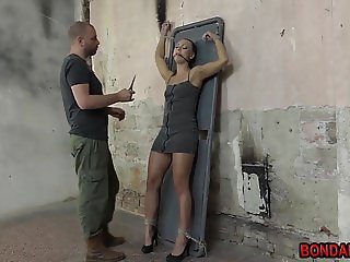 Mega hot babe submissed tied and vibed Bondaries.com