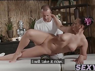 Busty and hot babe Va Ann getting it hard doggystyle