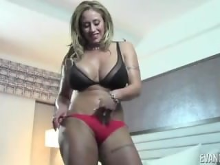 Big Ass Satin Panty Tease MILF Oh Yes!