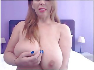 MD milf showing some big tits and pussy