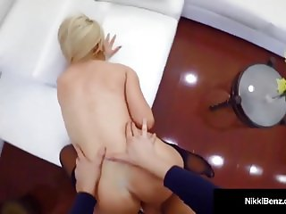 PentHouse Pet Nikki Benz Fucks A Guy & Prostitutes Her Ass?