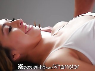 PASSION-HD After park workout massage fuck and creampie