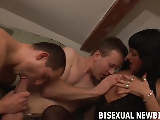 I have always been interested in a bisexual threesome