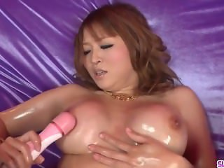 Busty Yuki Touma plays with cock in serious POV modes