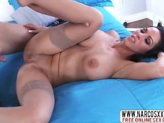 Grieving Mom Veronica Rayne In Stockings Dreams About Hot Dick