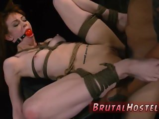 Extreme dildo show and guy gets dominated