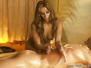 Beautiful Erotic Golden Massage From Asia