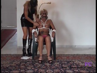Fetisch-Concept.com: - Bondage date for 2 girls with nipple