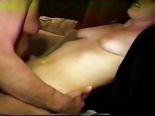 ex carle in a threesome with an older man getting a creampie